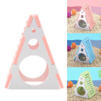 High Quality Hamster Assembling Triangle Wooden Hamster House For Lovely Animals