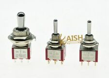 Kn1-223 DPDT 3 Positions on off on Rocker Toggle Switch 2 Way ...