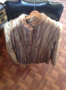 Mink Fur Coat Mink Bolero