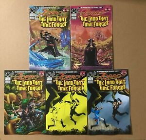 Zorro in the Land that Time Forgot Lot: 1 Cover B C 2 Cover A 4 Cover A B 2021