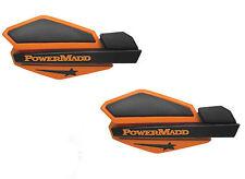 PowerMadd Star Series Replacement ATV Handguards Hand Guards Orange Black 34205