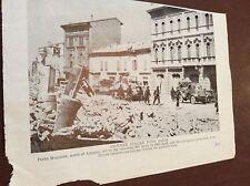 m12a ephemera ww2 1945 picture porto maggiore falls british 8th army enter