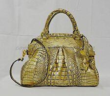 NWT Brahmin Louise Rose Leather Satchel/Shoulder bag in Filigree Lady Melbourne