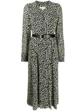 Michael Kors Midi Dress Size 10 Black/Bone