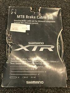 New Shimano XTR MTB Brake Cable Set
