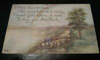 Vintage F A Owen Rainbow Scene Postcard no. 310 VTG 1913