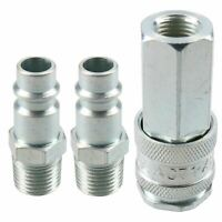 "PCL XF Series Female Coupler 1/4"" BSP Female Thread & Male Air Adaptor Fittings"