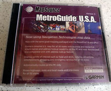 Garmin Mapsource MetroGuide USA version 5 includes trip & waypoint Functions