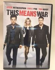 This Means War (DVD, 2012), org non graphic