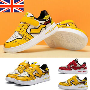 Kids Boys Cartoon Trainers Girls Sports Shoes Running School Casual Gym Sneakers