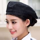 Men Women Mesh Chef Waiter Hats Breathable Kitchen Cook Work Wear Beret Cap