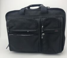TUMI ROLLING BRIEFCASE Overnight Bag with Laptop Sleeve STYLE 26103 D4
