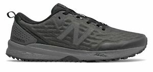 New Balance Men's NITREL v3 Trail Shoes Black with Grey