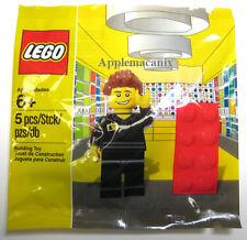 NEW SEALED LEGO Retail Store Employee 5001622 EXCLUSIVE POLYBAG MINIFIGURE SET