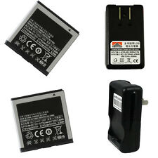 2X New Battery + Charger for Samsung GT-i9000 t959 t959t Vibrant Galaxy S 4G