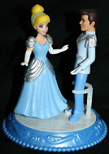 "4.25"" Disney Cinderella & Prince Charming Dancing Duet Toy Cake Topper Figure"