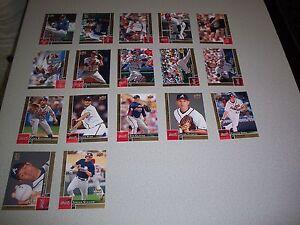 2009 Upper Deck First Edition Baseball Team Set Atlanta Braves