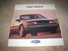 1988 Ford Taurus GL LX MT-5 sales brochure dealer literature
