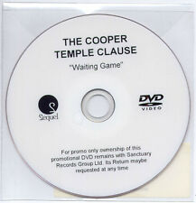 COOPER TEMPLE CLAUSE Waiting Game 2007 UK promo test DVD