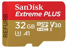 SanDisk Extreme PLUS A1  microSDHC 32GB microSD 32 GB V30 4K memory card