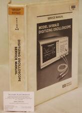 HP54100A/D Digitizing Oscilloscope Service Manual