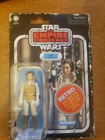 """Star Wars Retro Collection Princess Leia Hoth 3.75"""" Action Figure NEW"""