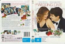 Dvd * The Wedding Date * 2005 Australian Roadshow Issue - Adult Drama Romance