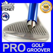PRO GOLF Iron Wedge GROOVER Groove Sharpener Club Tool Cleaner U V Regrooving