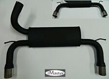 Exhaust Rear Silencer Back Box FORD FOCUS Mk 2 II ST 2.5 225hp  Mk 3 Duplex
