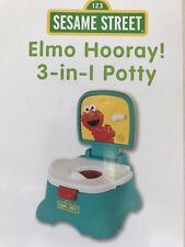 Potty Training Seat Toilet Trainer Elmo Sesame Street Baby Infant Toddler Kids