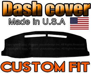 fits 1991-1996  CHEVROLET  BERETTA  DASH COVER DASH BOARD PAD /  BLACK