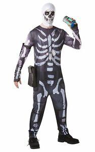 """Fortnite Costume """"Skull Trooper"""" For Adults"""