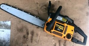 "*Poulan Pro PP4620AVX 20"" Chainsaw with  Case and extra chain"