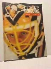VINTAGE 1990-91 PITTSBURGH PENGUINS OFFICIAL YEARBOOK (1ST STANLEY CUP SEASON)
