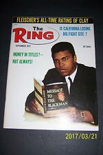 1971 The Ring MUHAMMAD ALI vs JOE FRAZIER Cassius Clay Is He TOP TEN ALL-TIME?