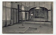 THE GYMNASIUM, ST. MICHAEL'S CONVENT, NORTH FINCHLEY: London postcard (C9803)