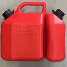 Sceptre Fuel & Oil Combination Jerry Can 6L/2.5L chainsaws, mowers, Generators