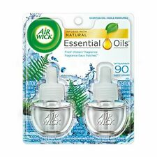 Air Wick Scented Oil Twin Refill Fresh Waters 2 Refills