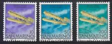 SAN MARINO 1978 75TH ANNIV. OF 1ST POWERED FLIGHT WRIGHT BROTHERS OF 4 STAMPS
