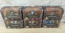 Lot of 6 Indian Twin Racer Chief Sport Camel Motorcycles 1:32 Scout Race New Ray