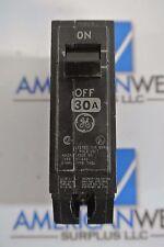 General Electric GE THQL THQL1130 30 AMP 1 Pole 120V circuit breaker  GUARANTEED