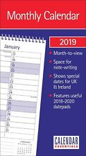 2019 Monthly Calendar Home planner Month to view Calender