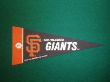 SAN FRANCISCO GIANTS MLB LICENSED MINI PENNANT, NEW