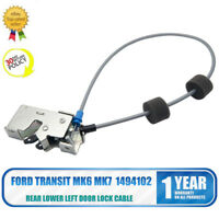 Rear Lower Left Door Lock Cable/Latch Catch For Ford Transit MK6&7 00-15 1494102