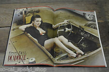 DEADBEAT MAGAZINE #8 VTG HOT ROD PINUP TATTOO ART KULTURE DEVIL DOLL DELUXE VLV