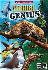 Scholastic Animal Genius PC Game Software Kids Children Educational Game WIN,MAC