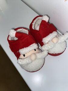 Unisex Baby Santa Slippers Size 3 Next Worn Once