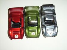 HOT WHEELS REDLINE SIZZLERS ANGELENO M-70 LOT OF (3) CHROME / RED / OLIVE