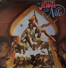 THE JEWEL OF THE NILE Original Sountrack LP 1985 Excellent Condition