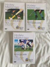 New listing SPORTING MATTERS - HOCKEY MASTERCLASS VOLUMES 1-3